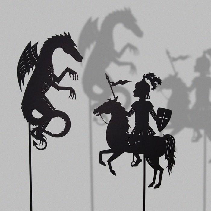 Путешествие в сказку: волшебная игра света и тени 23807