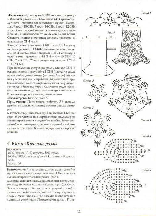 俄网编织杂志(230) - 荷塘秀色 - 茶之韵