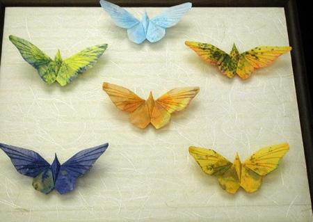 Бабочки оригами.