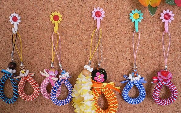 Плетение сувениров из ленточек