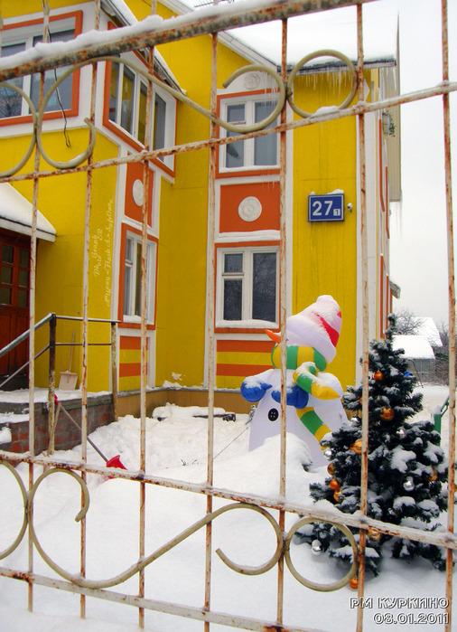Новогодний декор дома 27