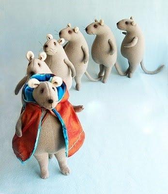 Мышь.Мягкая игрушка