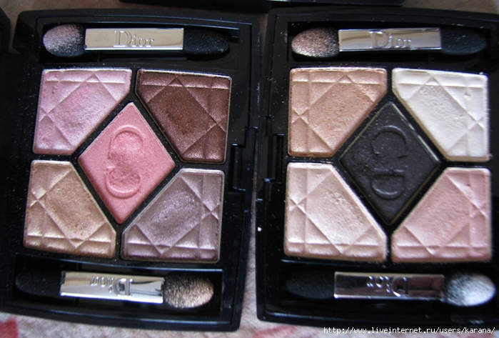 Dior 659 Crush Glow, Dior 529 Endless Shine