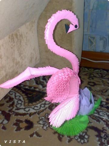 Для изготовления фламинго нам