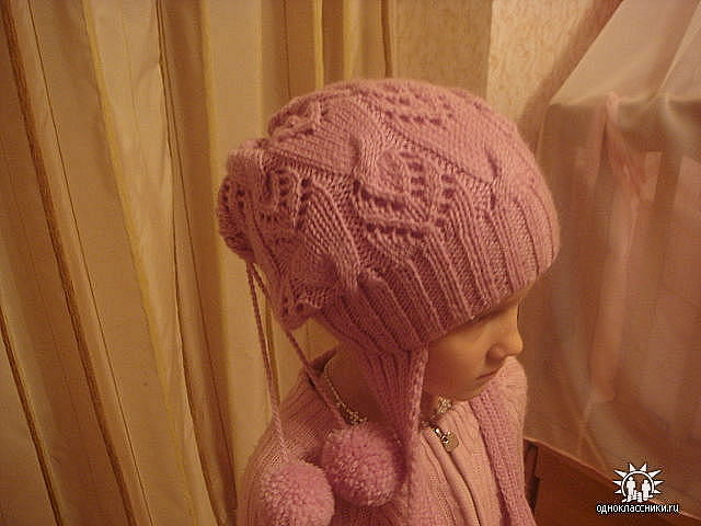 lace hat: free knitting patterns