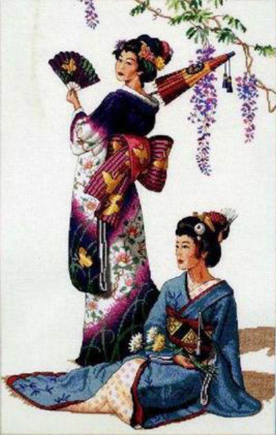 Рубрики: Схемы вышивки/Восток