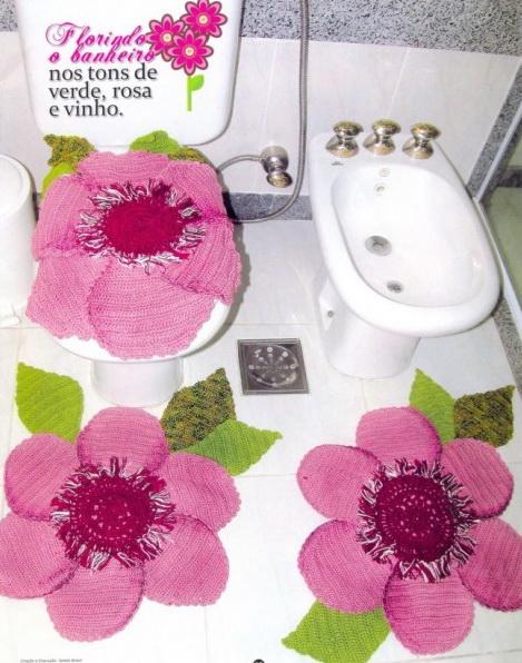 Вязание для ванной комнаты