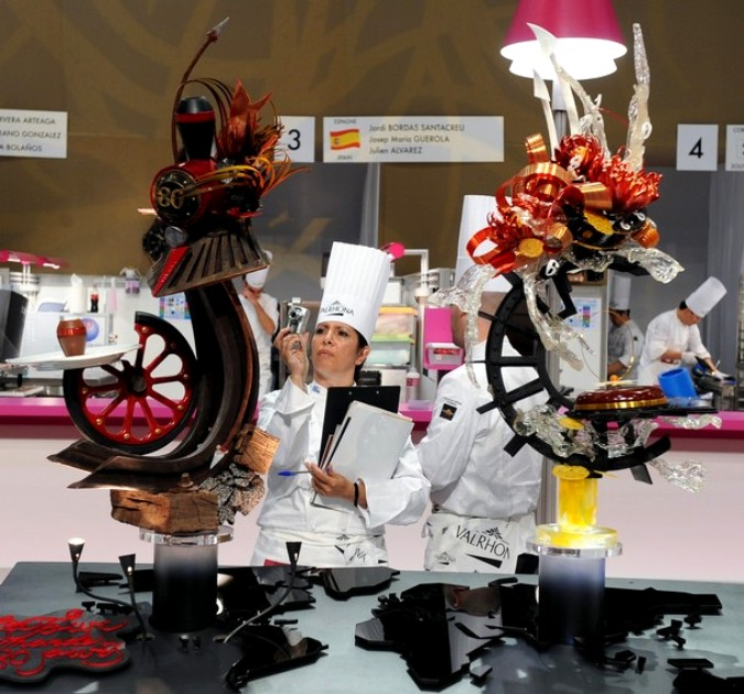 ����� ������������� ����� ���� World Pastry Cup � �����, �������, 24 ������ 2011 ����.