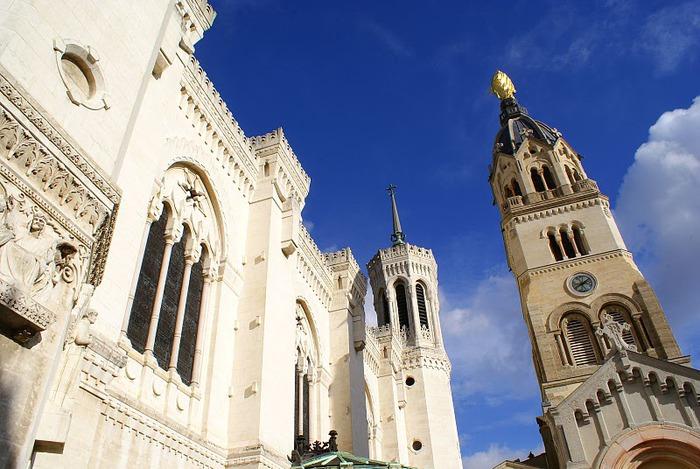 Базилика Нотр-Дам де Фурвьер , Лион 61017