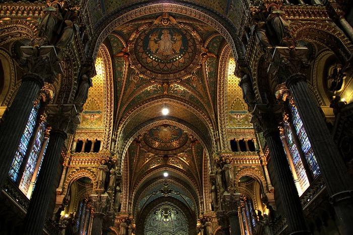 Базилика Нотр-Дам де Фурвьер , Лион 30315