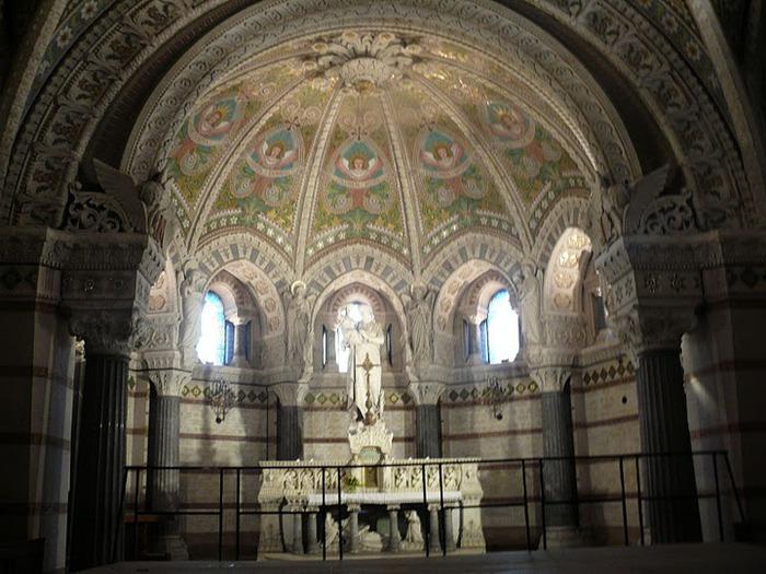 Базилика Нотр-Дам де Фурвьер , Лион 34545