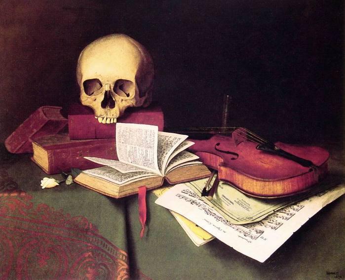 М. Харнетт. Смерть и бессмертие. 1876