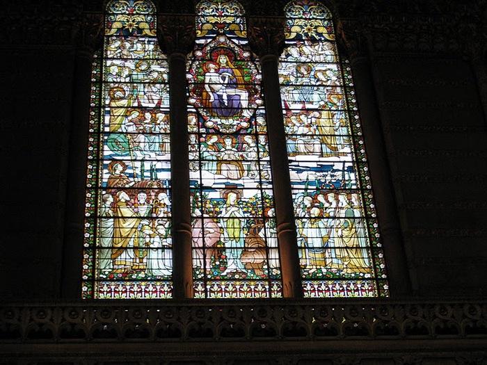 Базилика Нотр-Дам де Фурвьер , Лион 26817