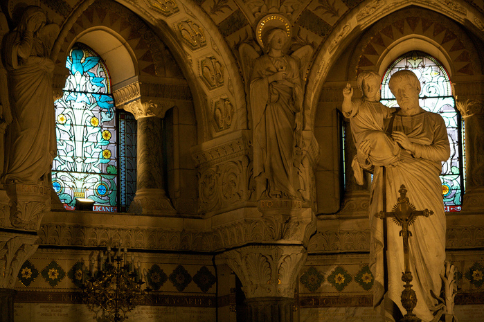 Базилика Нотр-Дам де Фурвьер , Лион 41251