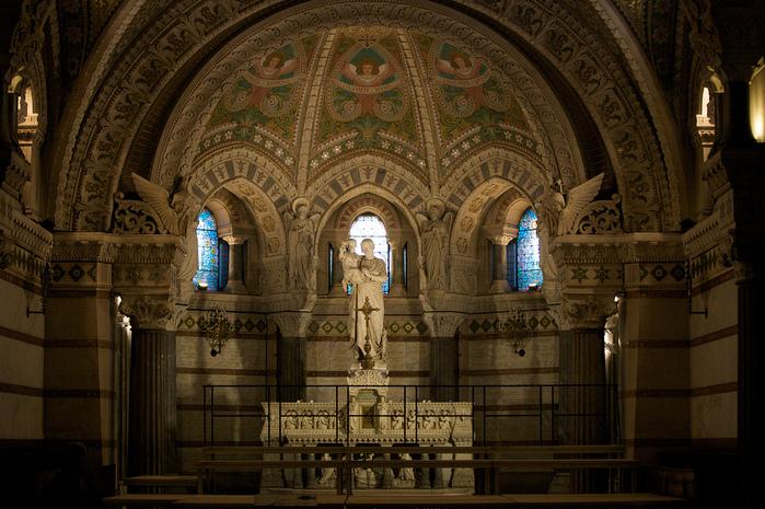 Базилика Нотр-Дам де Фурвьер , Лион 83312
