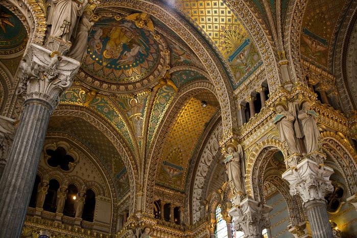 Базилика Нотр-Дам де Фурвьер , Лион 64282