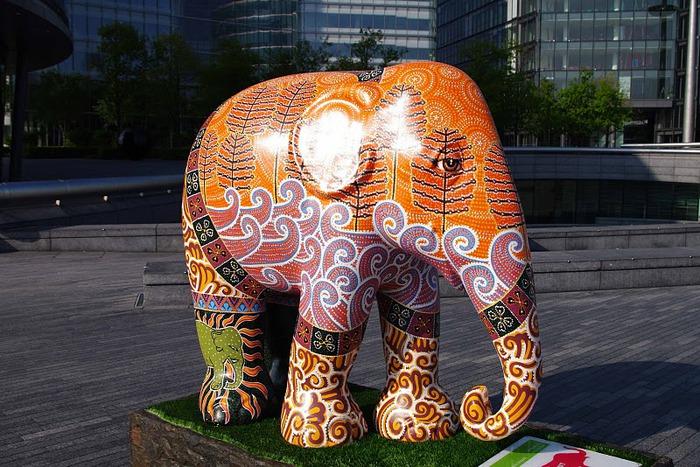 Парад Слонов в Лондоне 2010 48398