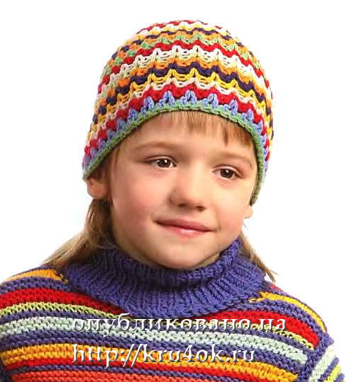 <шапочка для мальчика - Самое