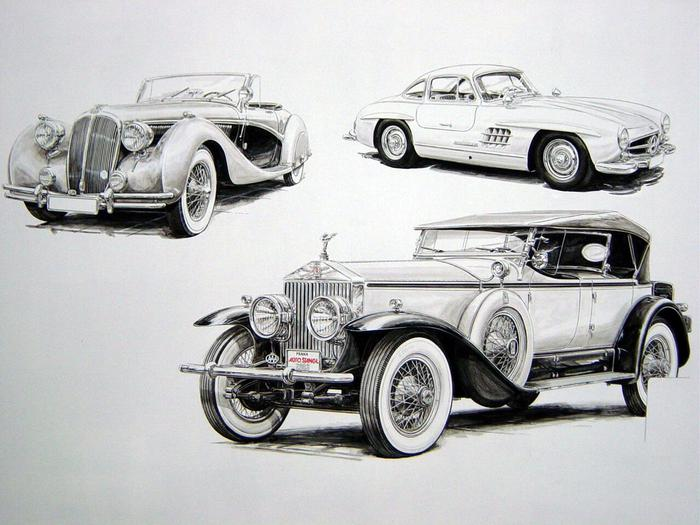 Jaguar, Lincoln, Mercedes,