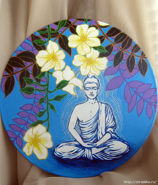 Будда акрил Shraddha