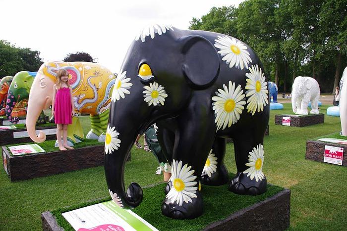 Парад Слонов в Лондоне 2010 19761