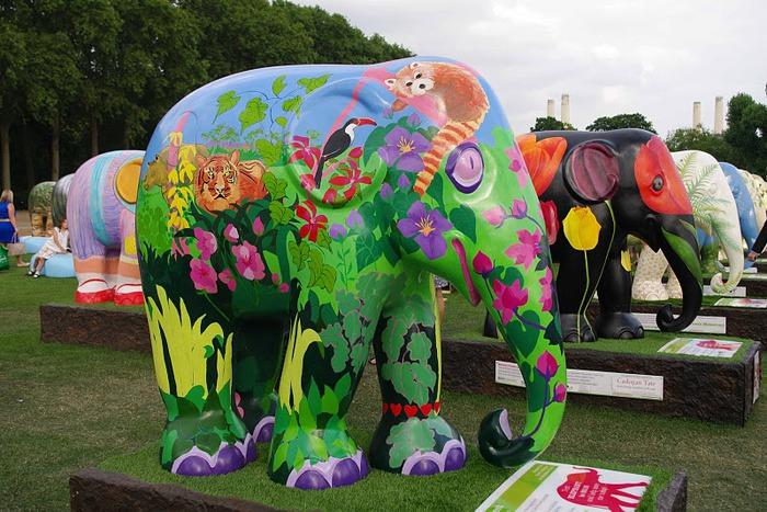 Парад Слонов в Лондоне 2010 95355
