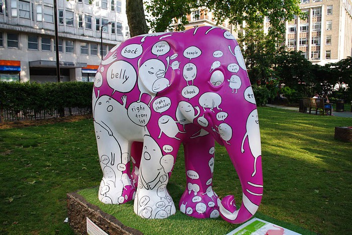 Парад Слонов в Лондоне 2010 80474