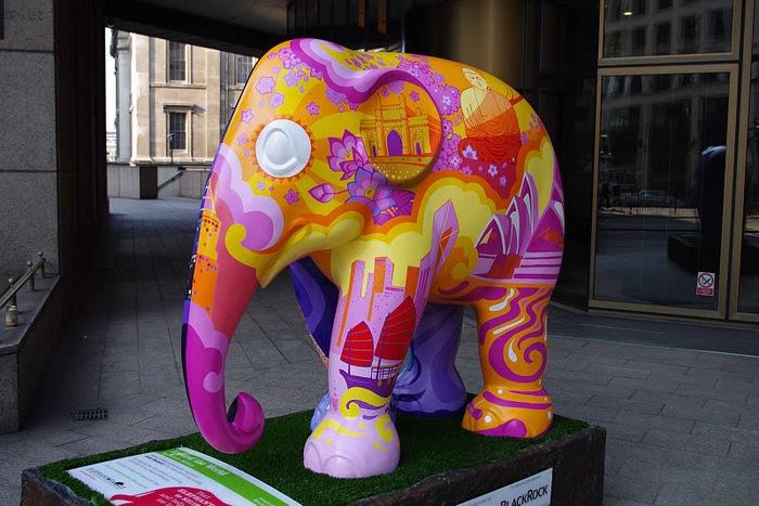 Парад Слонов в Лондоне 2010 31365