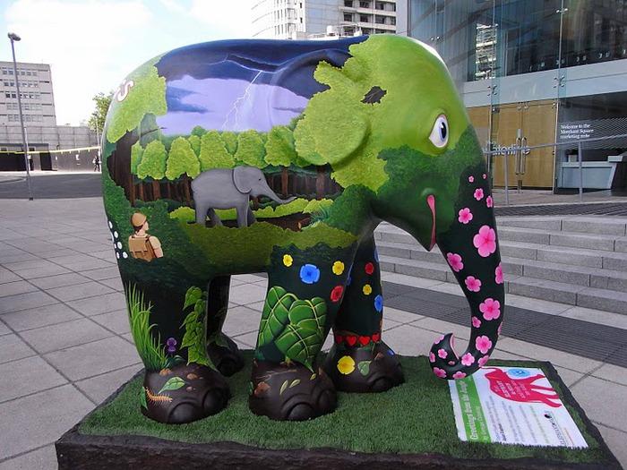 Парад Слонов в Лондоне 2010 73908
