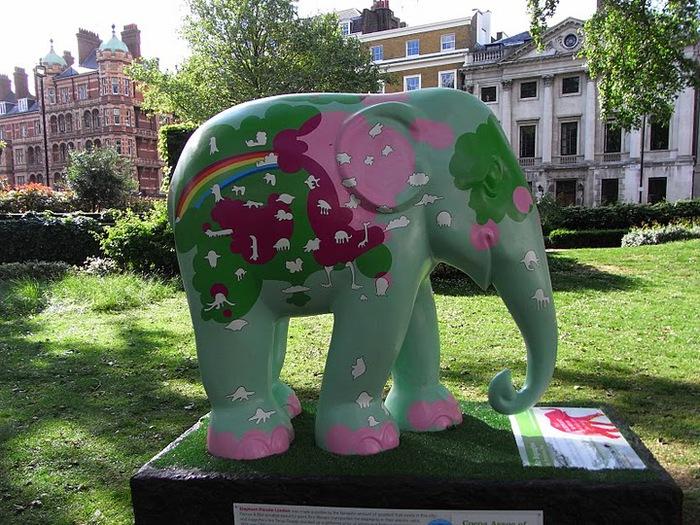 Парад Слонов в Лондоне 2010 35169