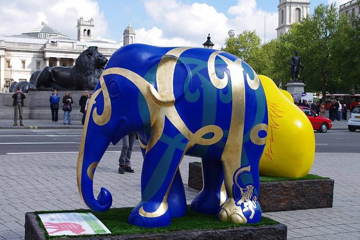 Парад Слонов в Лондоне 2010 16985