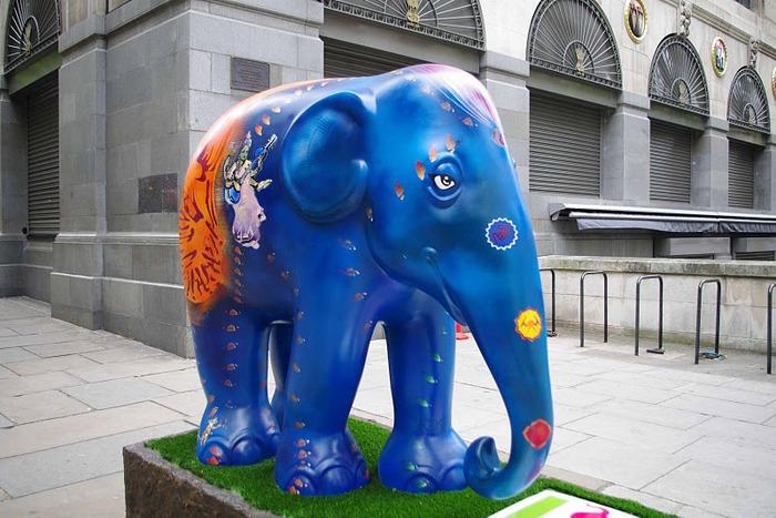 Парад Слонов в Лондоне 2010 31484