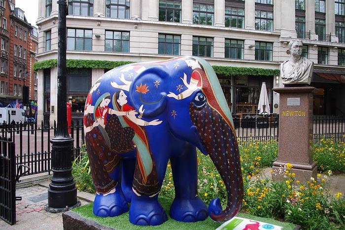 Парад Слонов в Лондоне 2010 16210