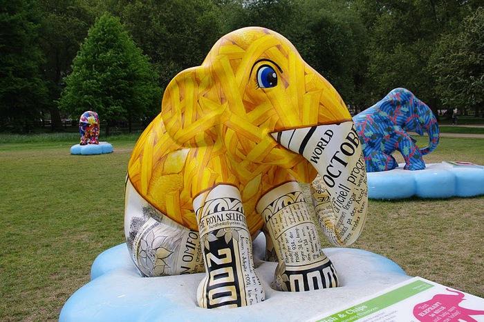 Парад Слонов в Лондоне 2010 82679