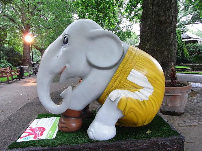 Парад Слонов в Лондоне 2010 42271