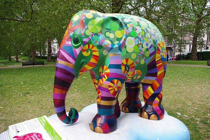 Парад Слонов в Лондоне 2010 83012