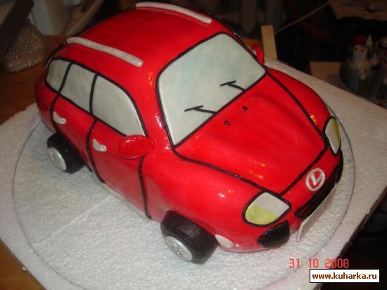 Торт Машинка. b_1979 (550x412
