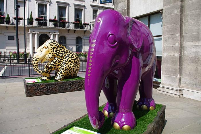 Парад Слонов в Лондоне 2010 41753