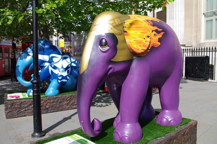 Парад Слонов в Лондоне 2010 93004