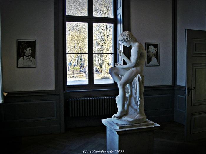 Дюссельдорф-Бенрат, музей европейского садово-паркового искусства (Museum für Europäische Gartenkunst)