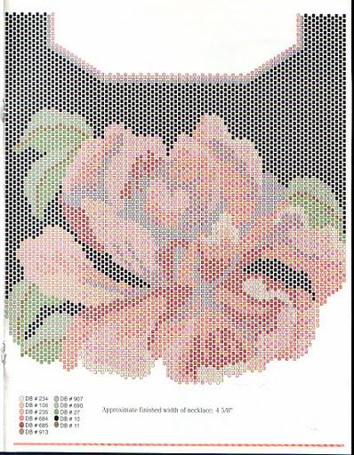 схемы украшений в технике кирпичного плетения