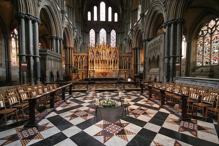 кафедральный собор Эли - (Англия). 13780