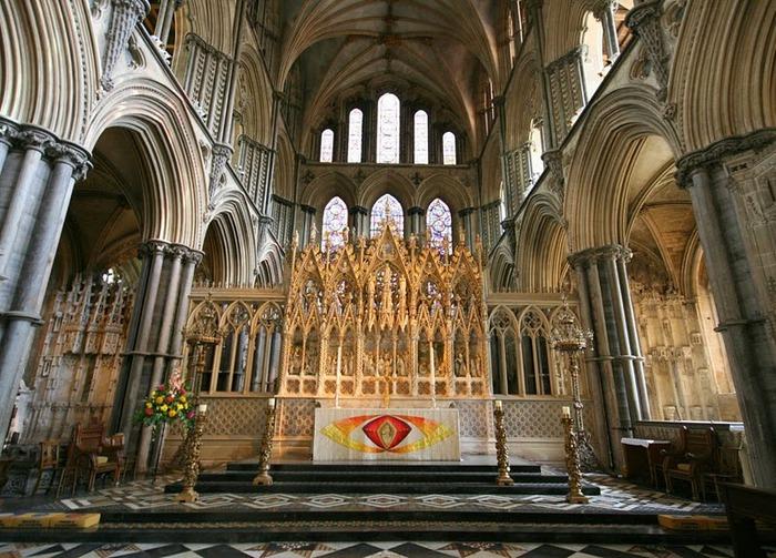 кафедральный собор Эли - (Англия). 83459