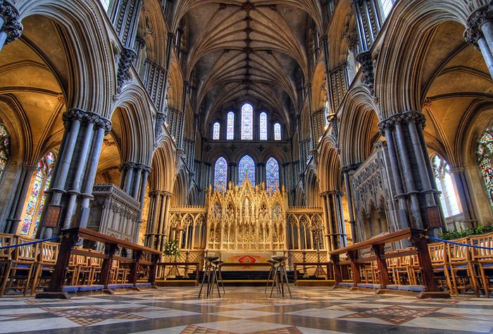 кафедральный собор Эли - (Англия). 71406