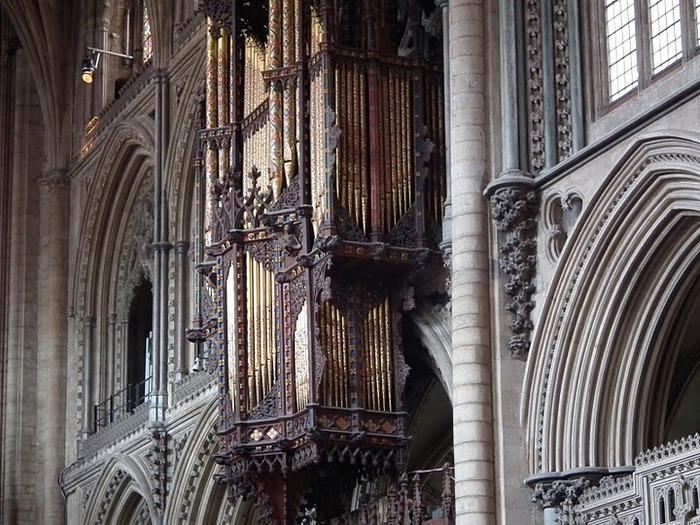 кафедральный собор Эли - (Англия). 89541