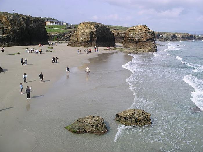 Playa de las catedrales 33884