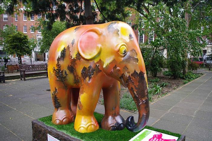 Парад Слонов в Лондоне 2010 41290