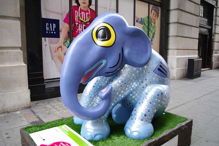 Парад Слонов в Лондоне 2010 39191