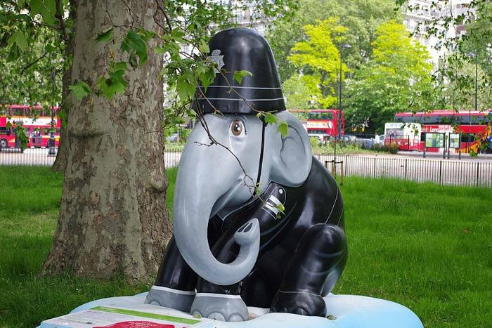 Парад Слонов в Лондоне 2010 11687