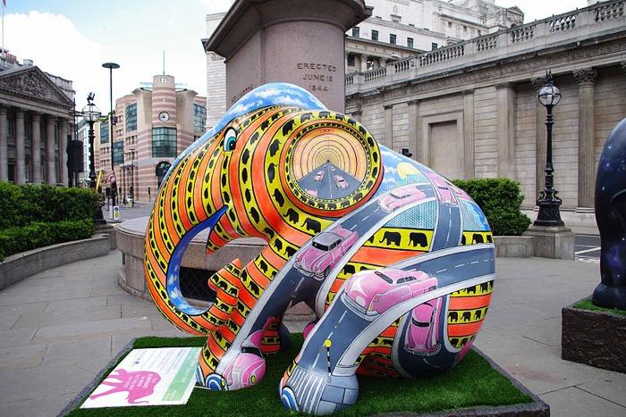Парад Слонов в Лондоне 2010 41560